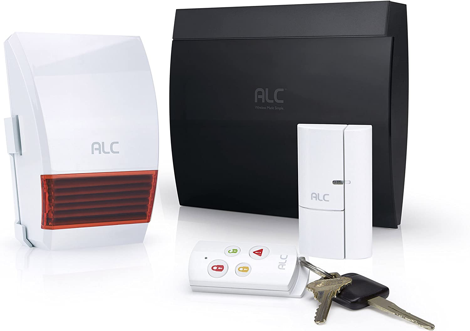 ALC AHS613 Connect Wireless Security System Starter Kit (White)