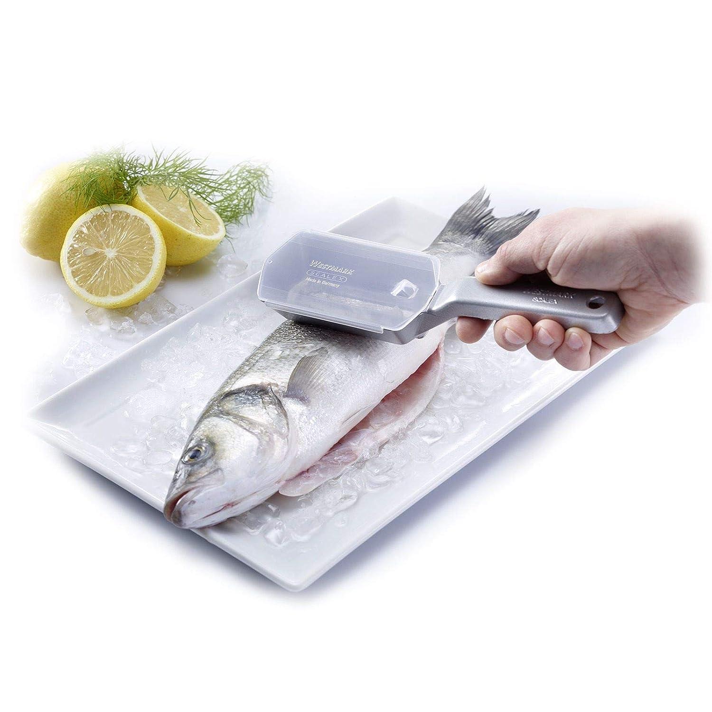 18 cm Acciaio Inossidabile /& Tescoma 863026 Presto Coltello Sfilettatore Westmark Raschiapesce scalex Utensili da Cucina