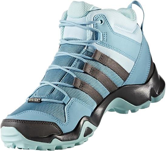 adidas Damen Terrex Ax2r Mid GTX W Trekking- & Wanderstiefel, blau