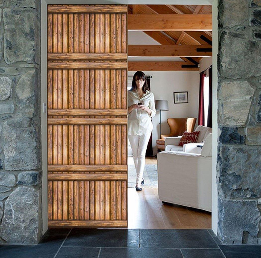 3d r/ústico madera papel de contacto vinilo autoadhesivo estante maletero para cocina Backsplash Countertop gabinetes muebles pared artes de vinilo manualidades DIY 45 x 500 cm