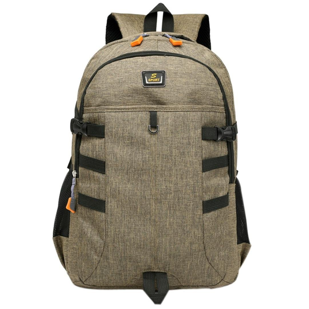 1137a862b1 Amazon.com  Vinjeely Unisex Backpack Large Capacity Nylon Middle High  School Student Laptop Travel Bag (Blue)  Baby