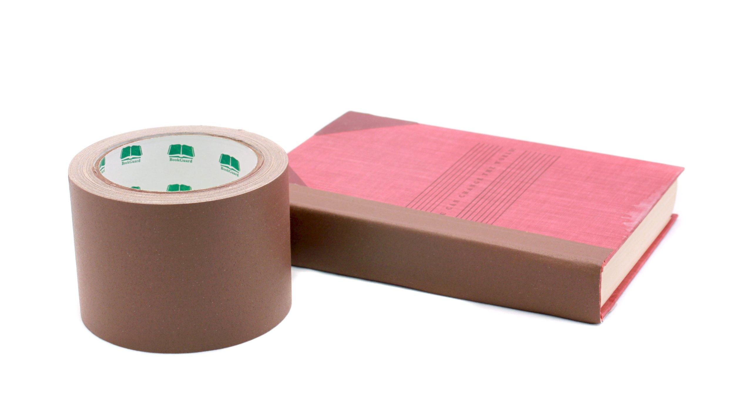 3'' Black Colored Premium-Cloth Book Binding Repair Tape | 15 Yard Roll (BookGuard Brand)