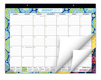 Terrific Desk Calendar 2019 Large Monthly Pages 22X17 Runs From Now Through December 2019 Desk Wall Calendar Can Be Used Throughout 2019 Beutiful Home Inspiration Truamahrainfo