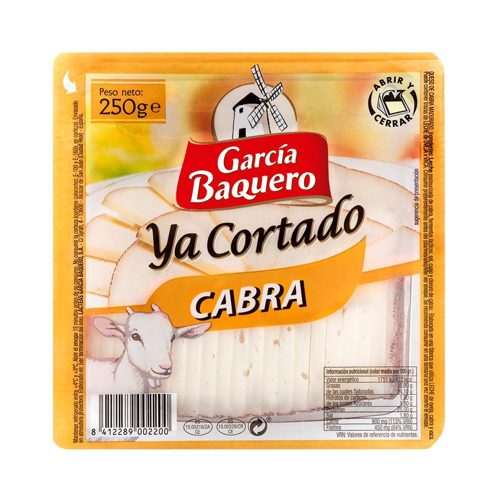 García Baquero Queso de Cabra - Ya Cortado 250gr: Amazon.es: Alimentación y bebidas