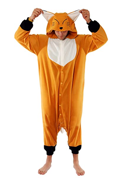 Kigu Japanese Red Fox-Mono Hombre