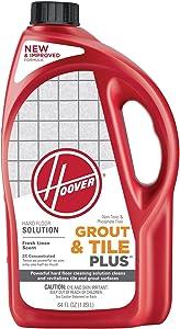 Hoover Grout and Tile Plus Hard Floor Cleaner Solution Formula, 64 oz, AH30430NF