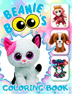 Beanie Boos Coloring Book  Favorite Toys of your Children are now in the  Coloring Book f5f256c427a1