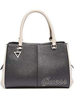 GUESS Factory Womens Pratt Logo Girlfriend Satchel