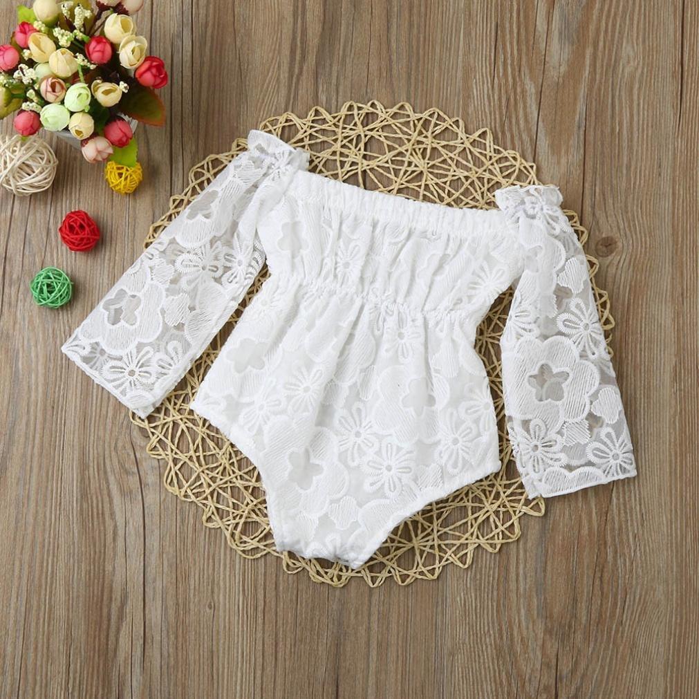 Amazon.com: minisoya recién nacido bebé niña lindo Floral de ...