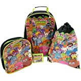 Moshi Monsters 4 Piece Children's Luggage Set (91JJC03)