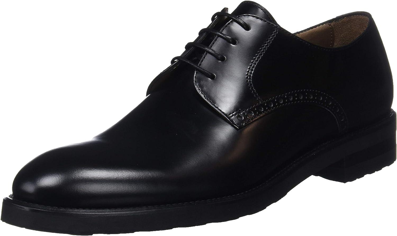 TALLA 43 EU. Lottusse L6921, Zapatos de Cordones Oxford para Hombre