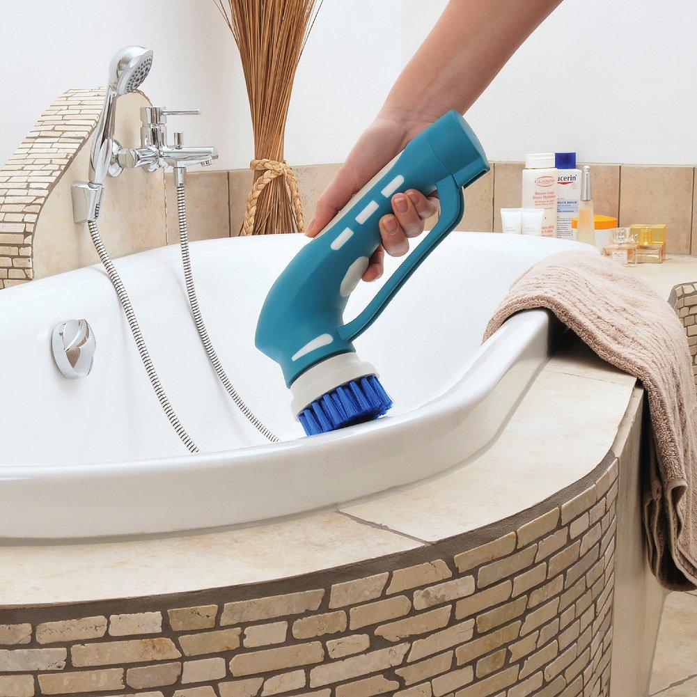 Amazon.com: EVERTOP Cordless Handheld Power Scrubber for Bathroom ...