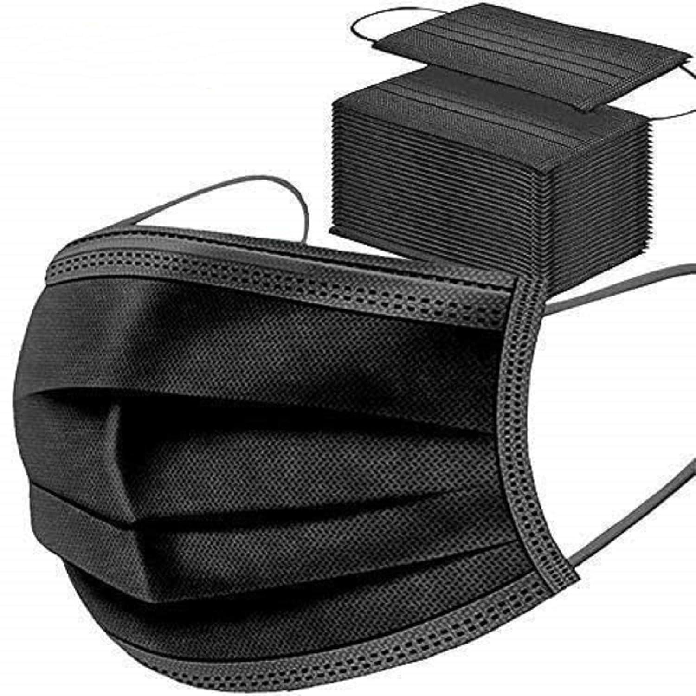 MaNMaNing Protección 3 Capas Transpirables con Elástico para Los Oídos Pack 50 unidades 20200723-MANING-NC50
