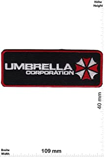 Parches - Umbrella Corporation - Movie Game Patch - Cartoon - Comic - Vest - Iron