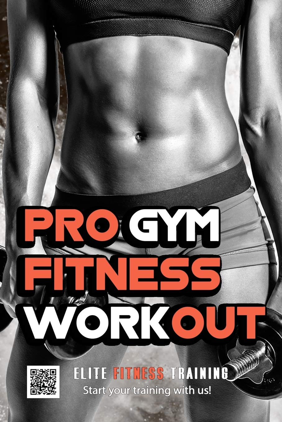 Pro Gym Fitness Workout: Journal Notebook For Cross Training