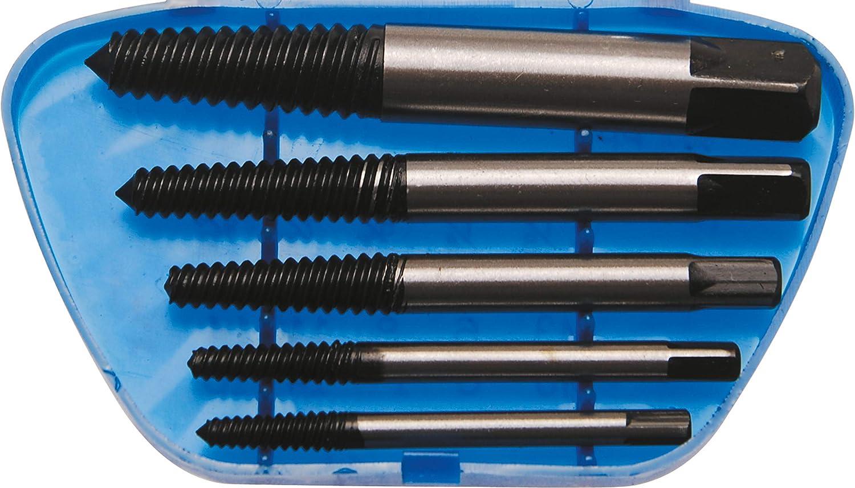 BGS 1895 | Juego de extractores de tornillos | tamaño 1 - 5 | 5 piezas