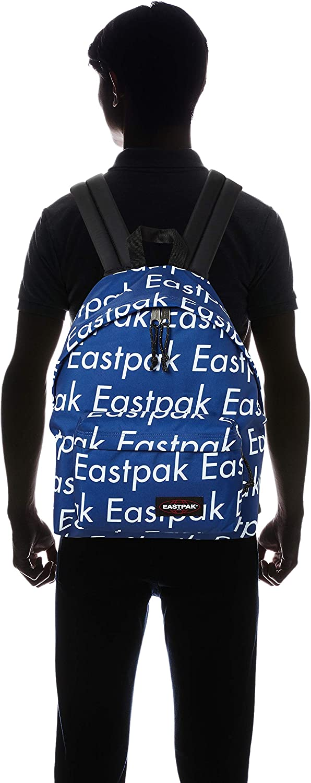 Blanc Sacs /à Dos Polyester, Bleu, Blanc, Motif, Unisexe, 300 mm, 180 mm Eastpak EK62050V Sac /à Dos Polyester Bleu