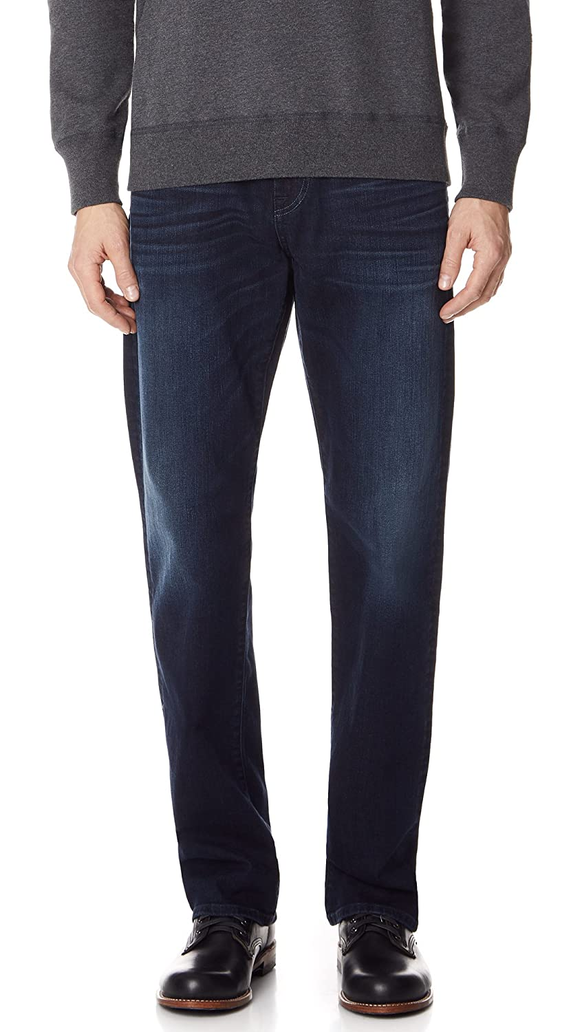 7 For All Mankind Mens Luxe Performance Carsen Easy Straight Leg Jeans