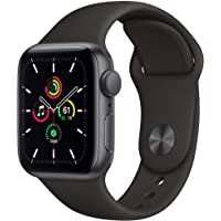 Apple Watch SE 40mm GPS Smartwatch (Space Gray Aluminum Case with Black Sport Band)