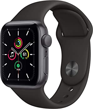 Apple Watch SE 40mm GPS Smartwatch (Black, White or Pink)