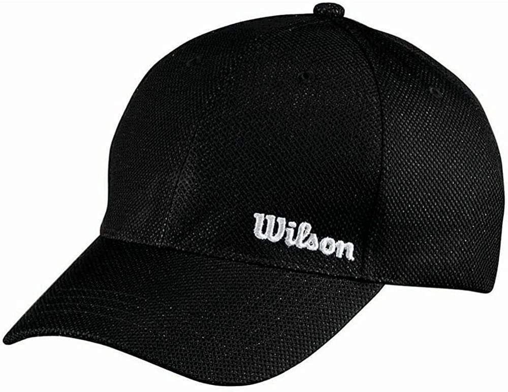 AUER Wilson Tour Cap - Gorra de béisbol para Hombre, Color Negro ...