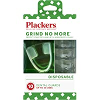 Plackers Mouth Guard Grind No More Night Time Use, 1 pack de 10 unidades