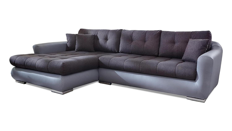 ecksofa grau stoff kunstleder couch eckgarnitur polsterecke g nstig g nstig online kaufen. Black Bedroom Furniture Sets. Home Design Ideas