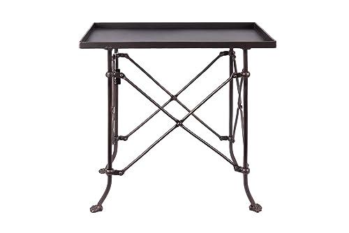 Creative Co-op Bronze Metal Rectangle Table, 20