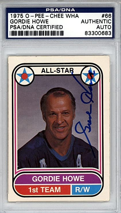 2ca3b057d1f Image Unavailable. Image not available for. Color: Gordie Howe Autographed  ...