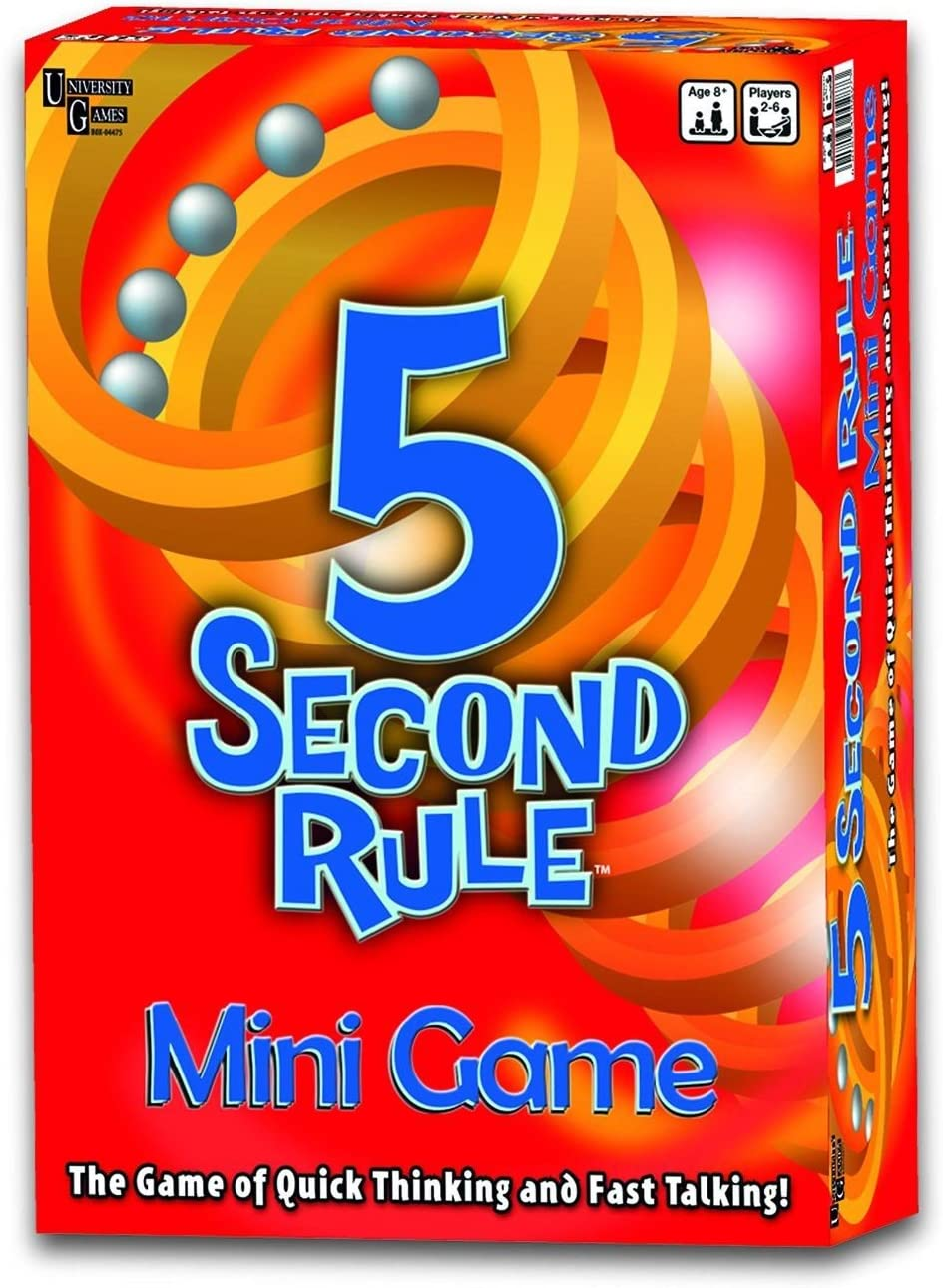 University Games 5 Second Rule Mini Game (Se distribuye Desde ...