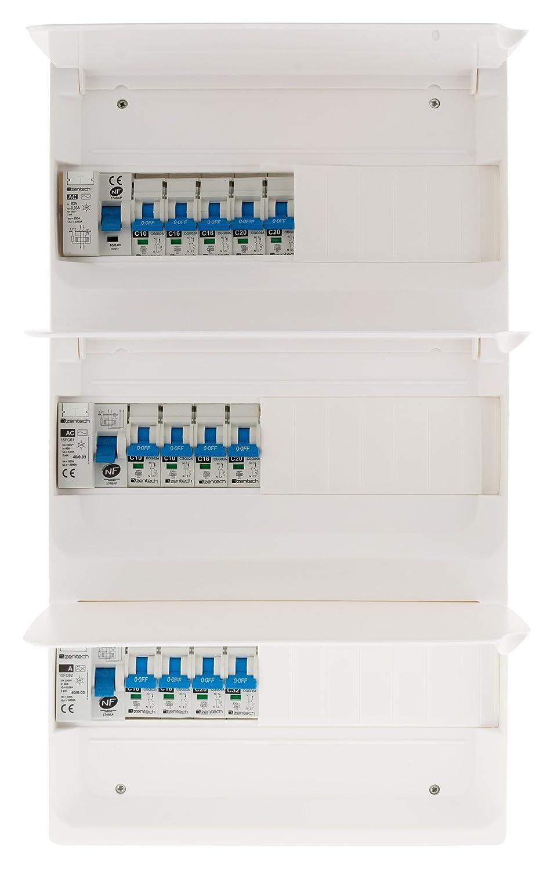 Zenitech 150222 Coffret T5 39 Modules Blanc