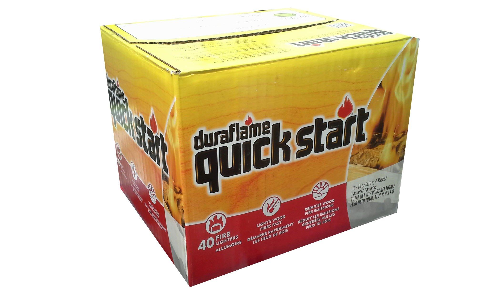 Duraflame Quick Start Firestarters, 40-Pk. (10 - 18ounce 4 packs)