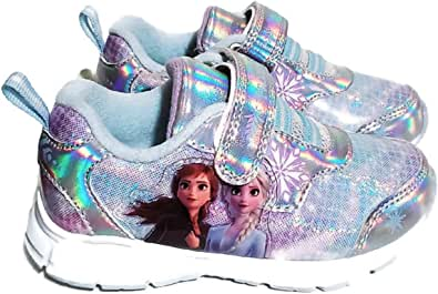 Disney Frozen 2 Toddler Girls' Light-Up Sneaker