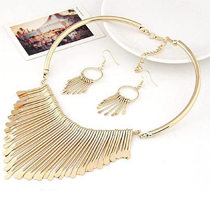 MChoice Necklace and Earrings.