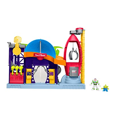 Fisher-Price Disney/Pixar Toy Story 4 Pizza Planet: Toys & Games