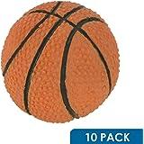 "10 Pack Rok Hardware Go Team Collection Basketball Sport Cabinet Kitchen Home Decor Hardware Drawer Door Knob 2-1/16"""
