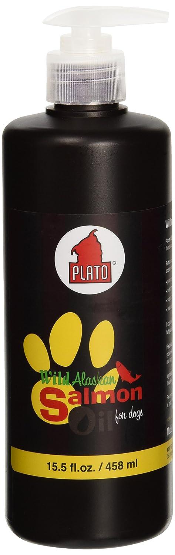Plato Treats Wild Alaskan Salmon Oil Dog Treat,