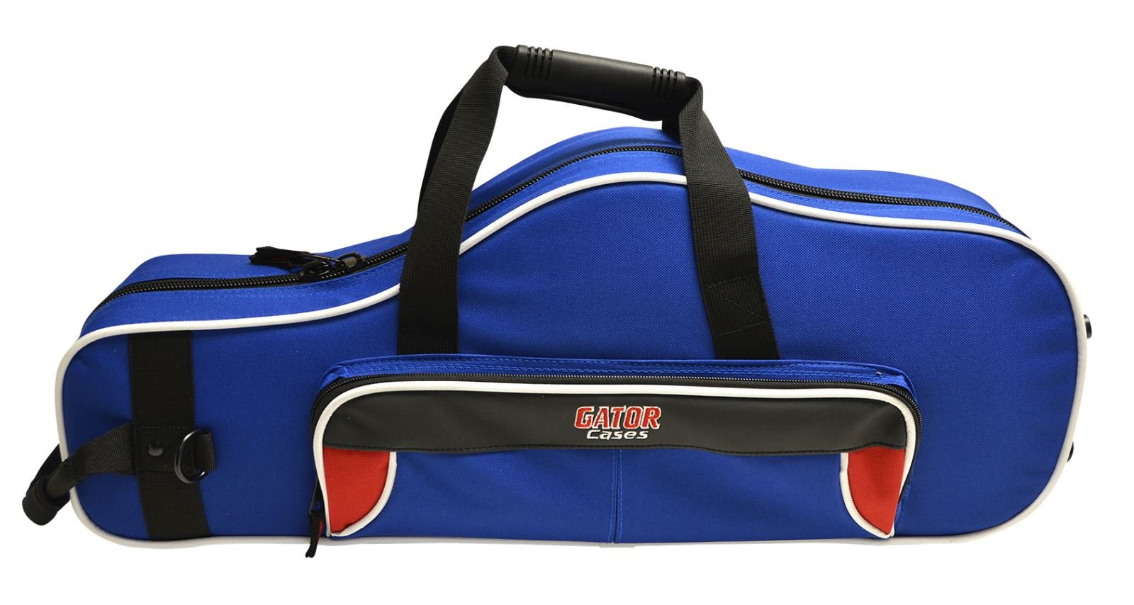 Gator GL-ALTOSAX-RB Lightweight Spirit Series Alto Saxophone Case, Red and Blue