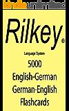 5000 English German Flashcards Englisch Deutsch Karteikarten (English Edition)