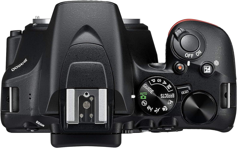 Nikon D3500 Juego de cámara SLR 24.2MP CMOS 6000 x 4000Pixeles ...