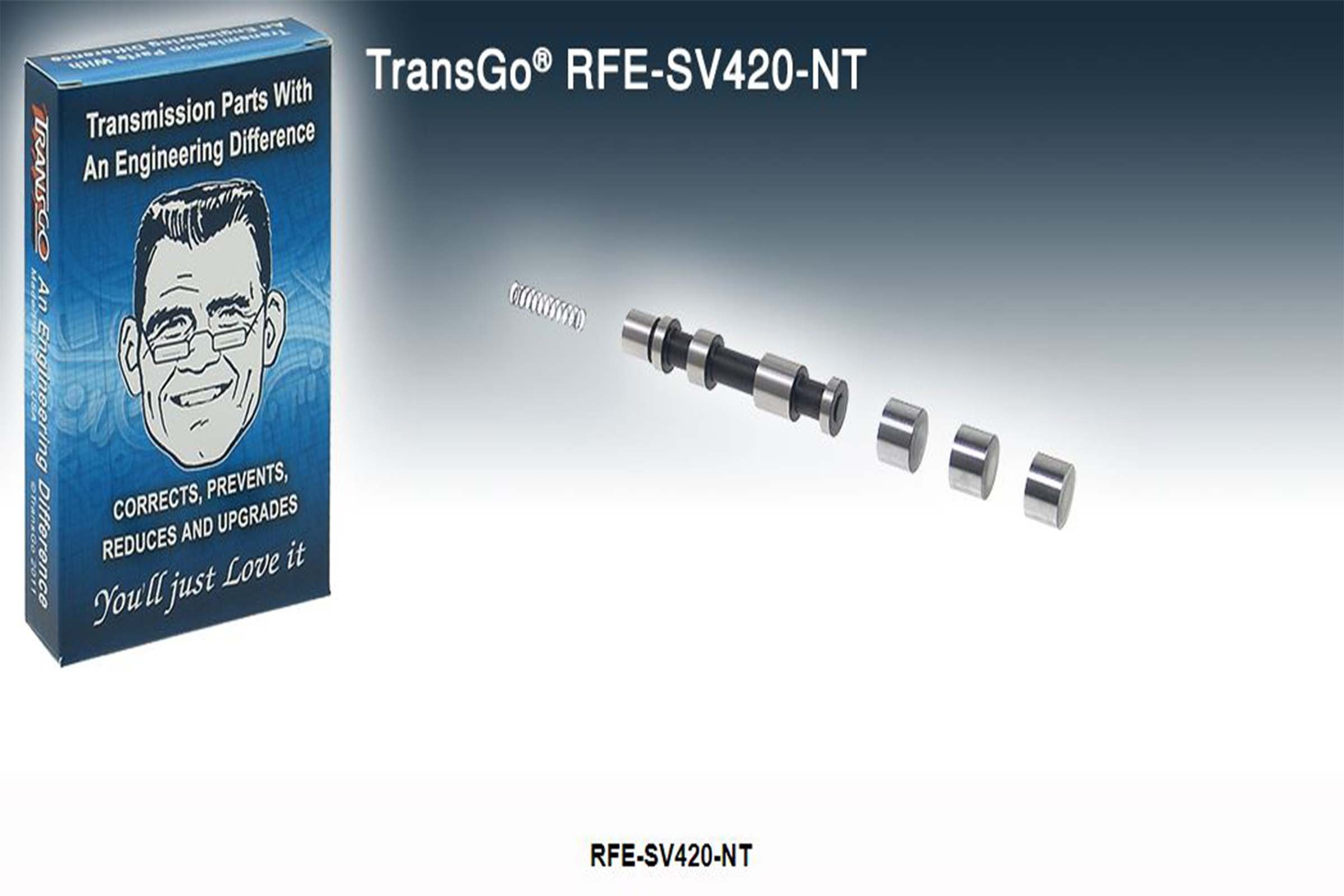 RFE SV420 NT Switch Valve .420 Refill Kit Does Not Have Tool Transgo