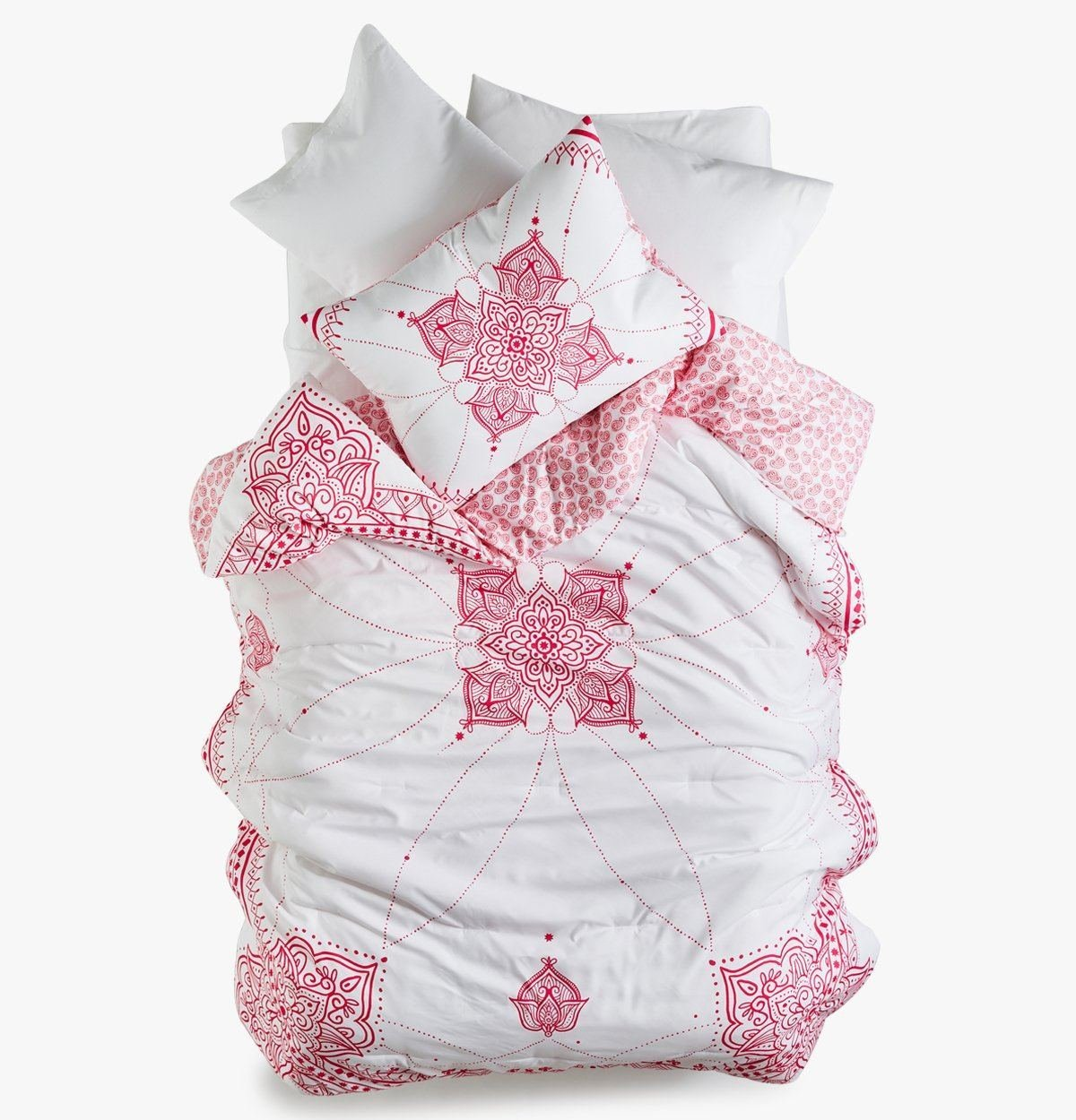 Roomify College Dorm Comforter - Pink Essence - Twin XL