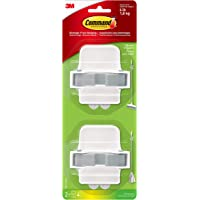 Command 17007-HW2EF Broom & Mop Grippers, Holds up to 4 lbs, 2-Pack