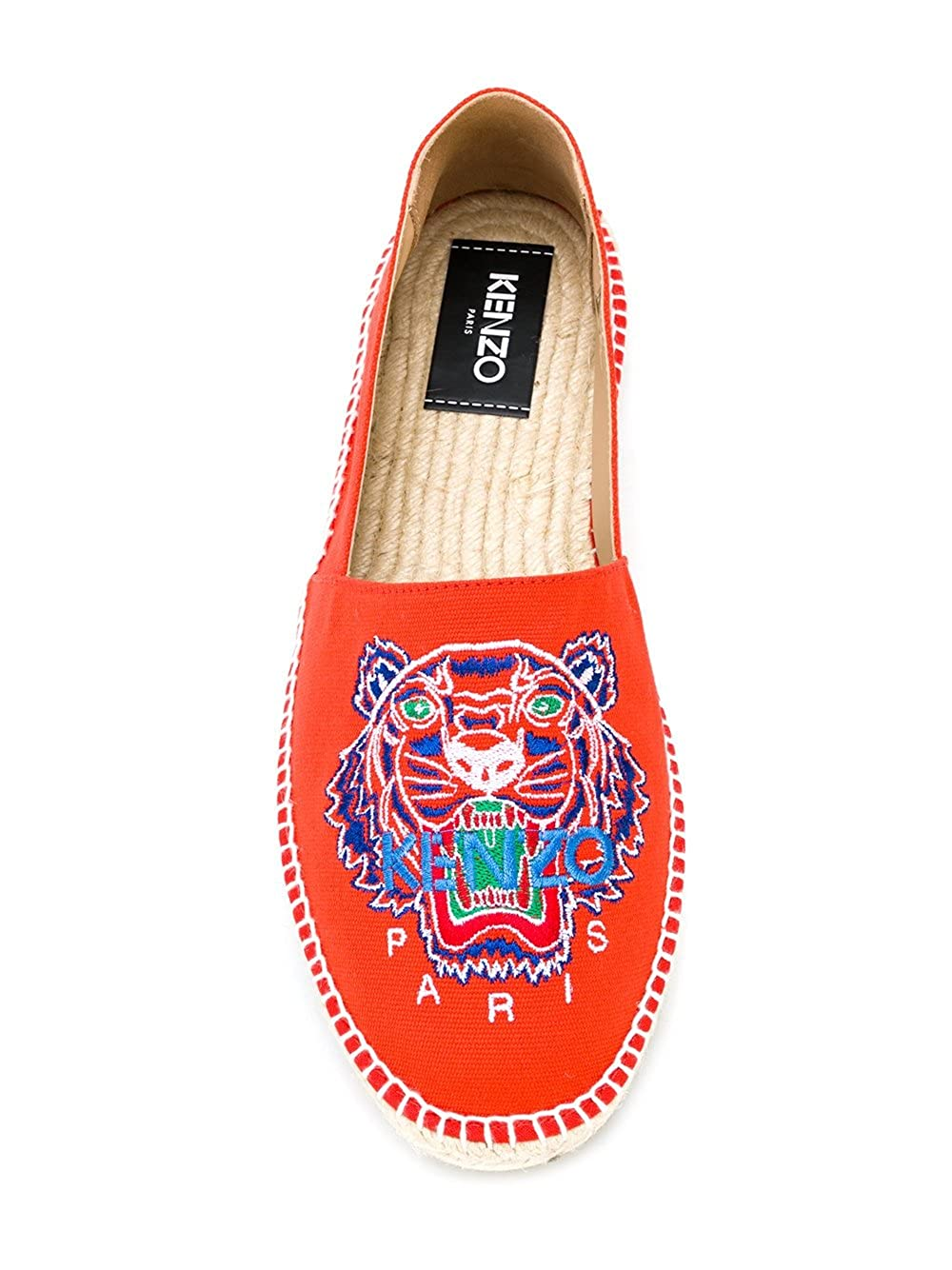 2bb19b9d6734 Kenzo , Espadrilles pour Homme Orange Orange IT - Marke Größe - Orange -  Orange, 43 IT - Marke Größe 43  Amazon.fr  Chaussures et Sacs