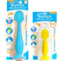 Baby Bum Brush, Original Diaper Rash Cream Applicator, Soft Flexible Silicone Brush, Unique Gift + Mini Diaper Rash…