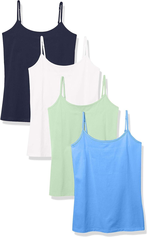 Essentials Womens 4-Pack Camisole