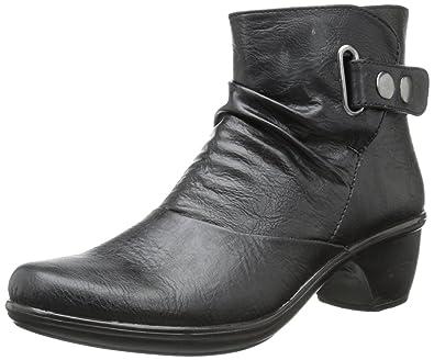 Easy Street Women's Wynne Boot,Black,6.5 ...