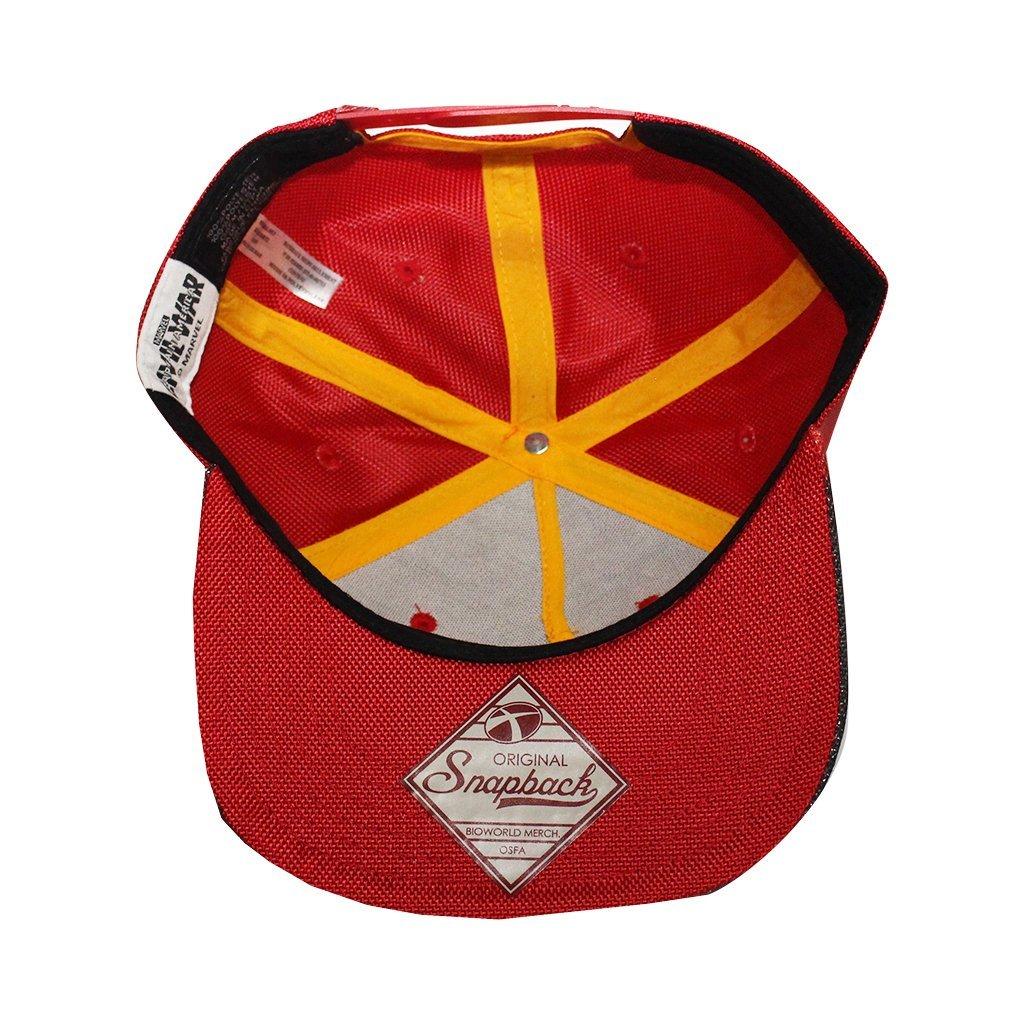 Amazon.com  Bioworld Men s Licensed Iron Man Civil Wars Ballistic  Sublimated Snapback Hat O S Red  Clothing df4890b59dda