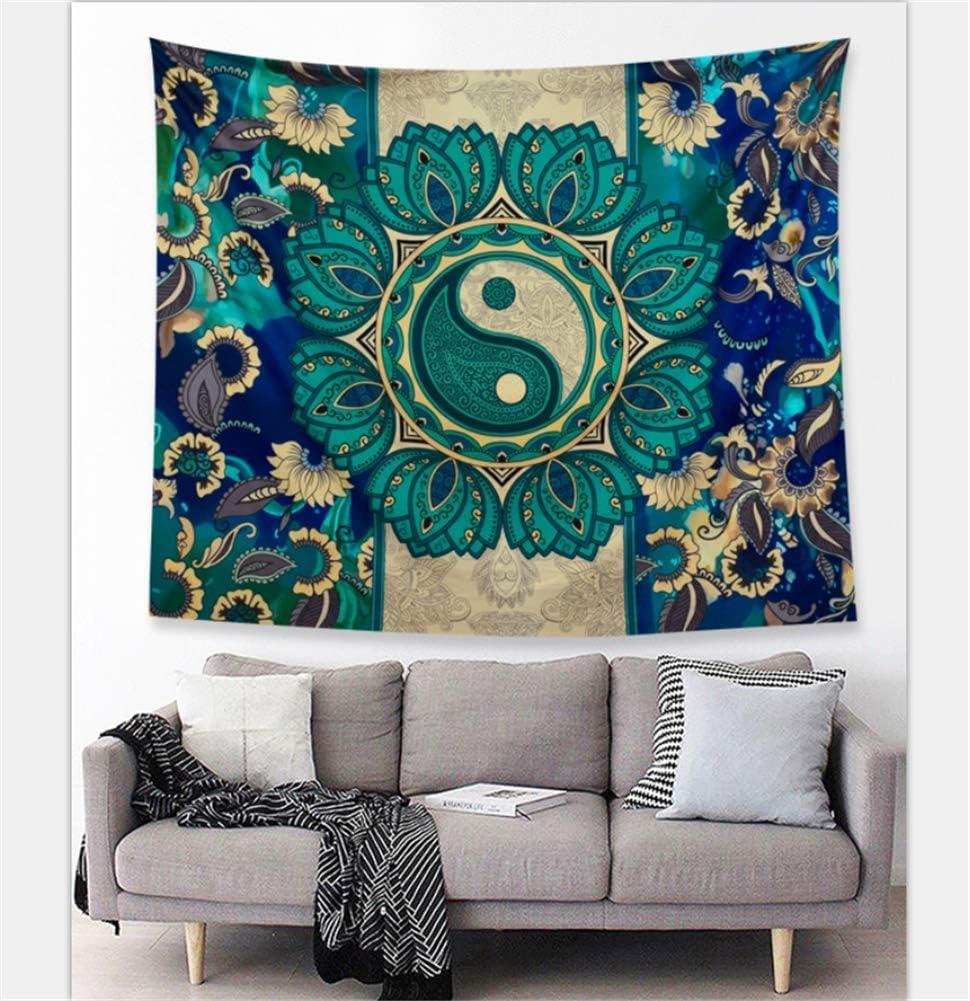 boho room decor diy.htm amazon com willing life boho yinyang floral mandala tapestry  boho yinyang floral mandala tapestry