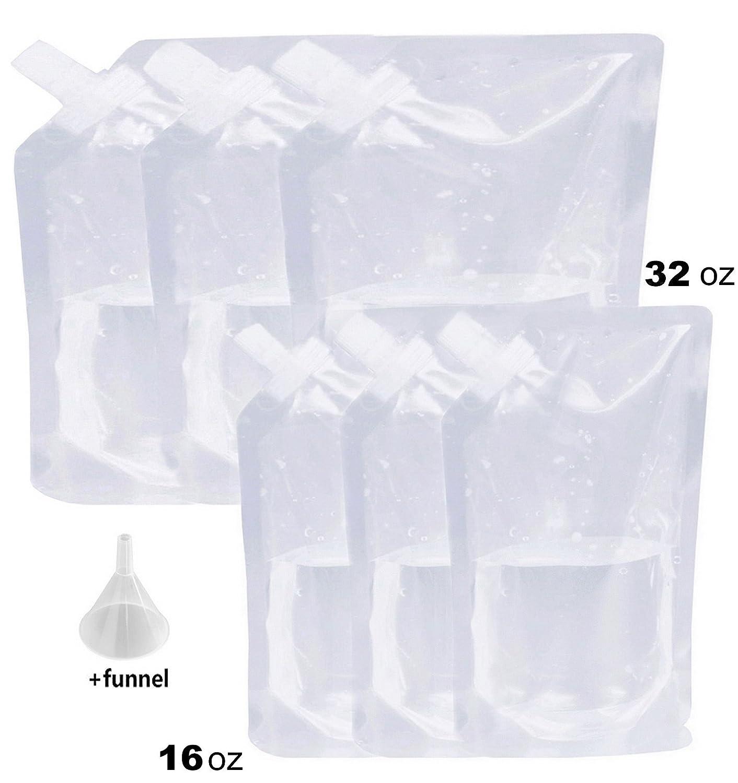 【2018?新作】 Liquor Rum RunnerフラスコクルーズキットSneakアルコールドリンクワインポーチバッグセットHeavy Duty再利用可能なConcealable + Flasks for Kit booze & Cocktails FUNNEL 3 x 16オンス+ 3 x 32oz + Funnel 20180403002 7 Piece Kit (3x16oz+3x32oz) + FREE FUNNEL B07CB5BQ2W, JEANS FACTORY Online Shop:c8c2b570 --- a0267596.xsph.ru